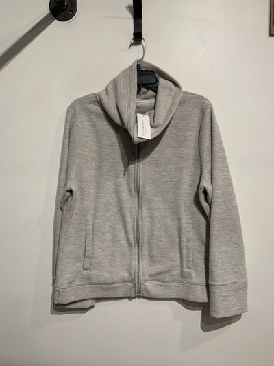 Calvin Klein Grey Funnel Neck