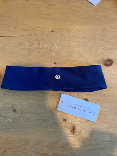 Lululemon Navy Headband
