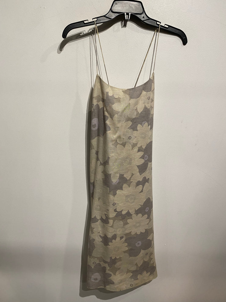 Nine West Beige Floral Dress