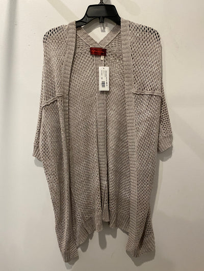 Left On Huston Beige Open Knit