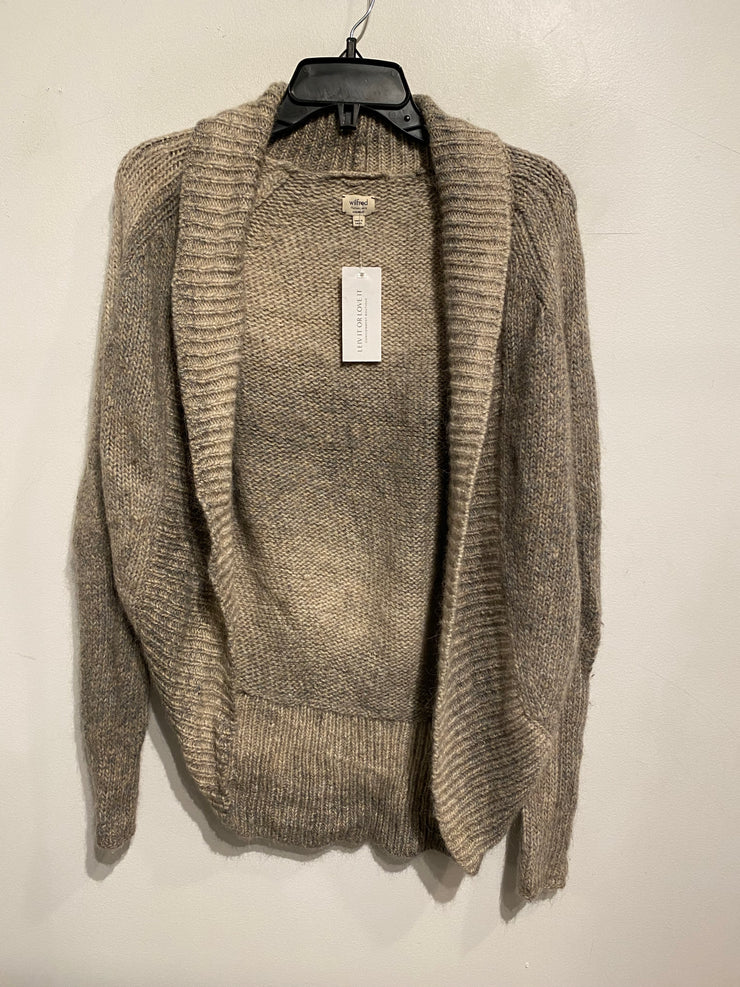 Wilfred Beige/Grey Knit Open