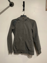 Sitka Grey Zip Up Hoodie