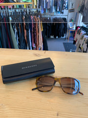 Burberry Tortoise Sunglasses