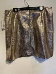 F21 Rose Gold Sparkle Skirt