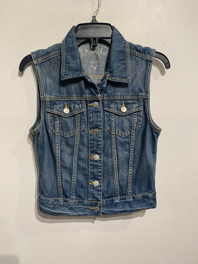 Talula Med Wash Denim Vest