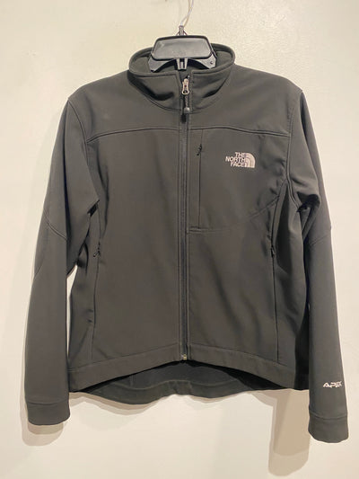 North Face Black Zip Jacket