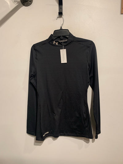 Under Armour Blk High Neck L.S