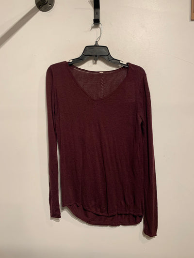 Lululemon Dark Purple L.Slv
