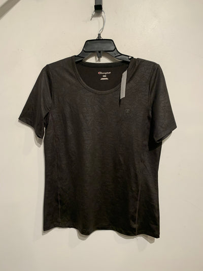 Champion Blk/Grey Pattern Tee