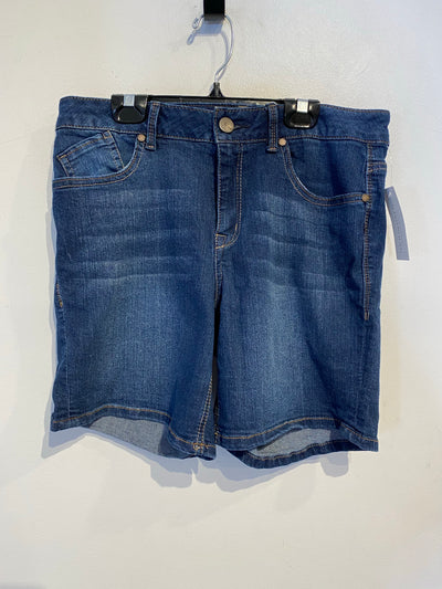 1822 Denim Dark Jean Shorts