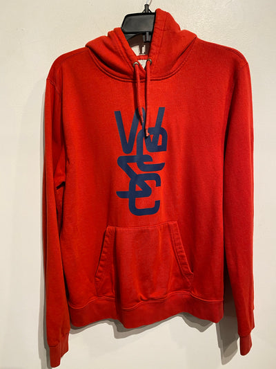 WeSC Red Graphic Hoodie
