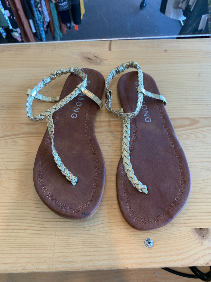 Billabong Gold Sandal