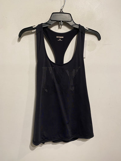 Ivy Park Blk Perforated Tank