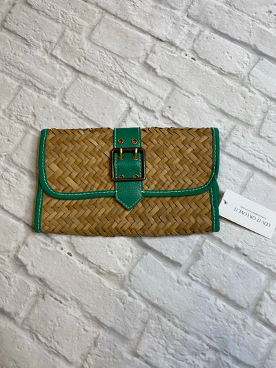 Gap Straw/Green Clutch
