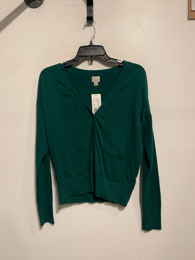 A New Day Green Cardigan