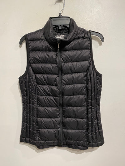 32 Heat Black Down Vest