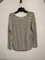 La Meil Grey/White V-Neck L.Sl