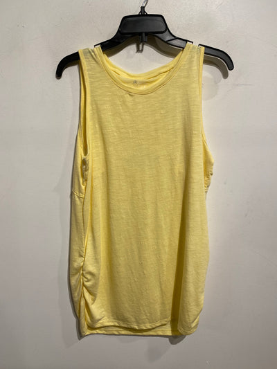 Skya Yellow Slub Tank