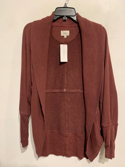 Wilfred Cranberry Open Cardi