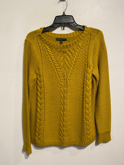Banana Chartreuse Knit Sweater