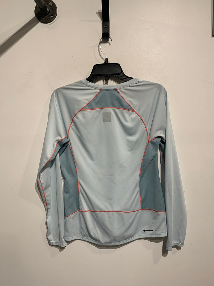 North Face Blue/Pink Thread