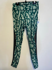 Lululemon Green Pattern Leg.