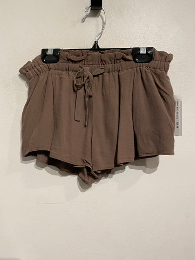 Wilfred Brown Tie Shorts