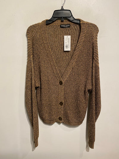 American Gold Knit Cardigan