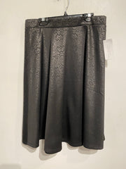 Faith & Joy Blk Pattern Skirt