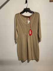 EDC Beige Knit Tunic Dress