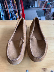Calvin Klein Tan Stud Loafer