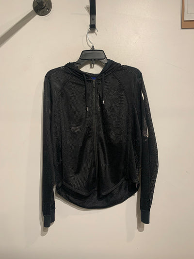 Nike Black Perforated Zip Up