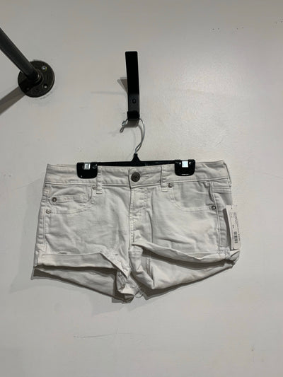 AE White Low Rise Shorts