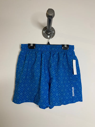 Reebok Blue Square Print Short