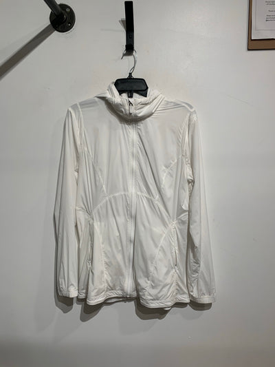 Lululemon White Zip Jacket