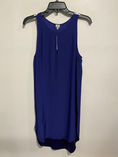 Wilfred Navy Silk Dress