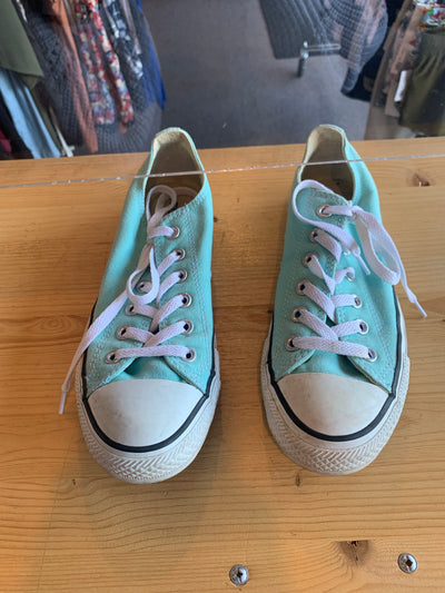 Converse Turquoise Sneakers