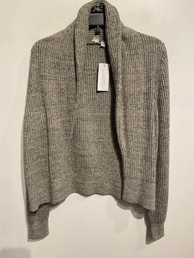Gap Grey Knit Open Cardigan