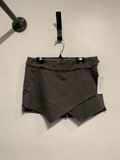 Talula Grey Folded Mini Skort