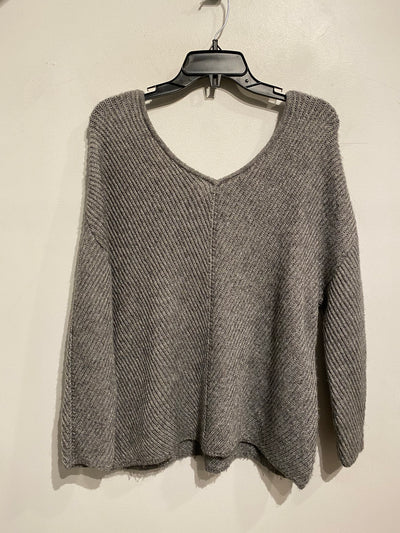 Vero Moda Grey Knit/Lace Rib