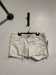 AE White Denim Shorts