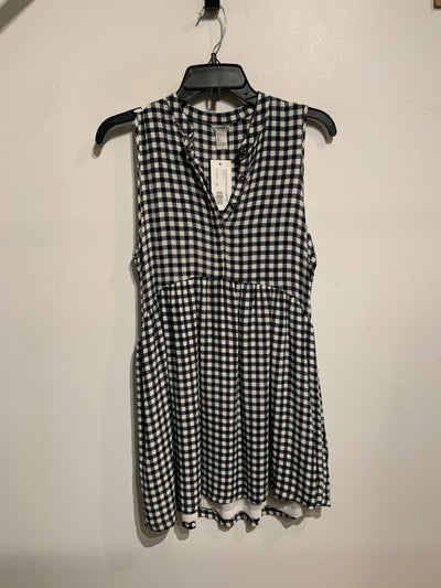 F21 Blk/White Gingham Dress