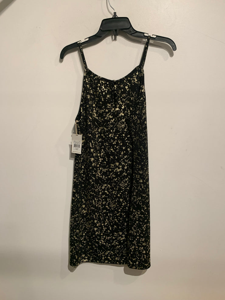 Dex Black/Gold Flex Dress