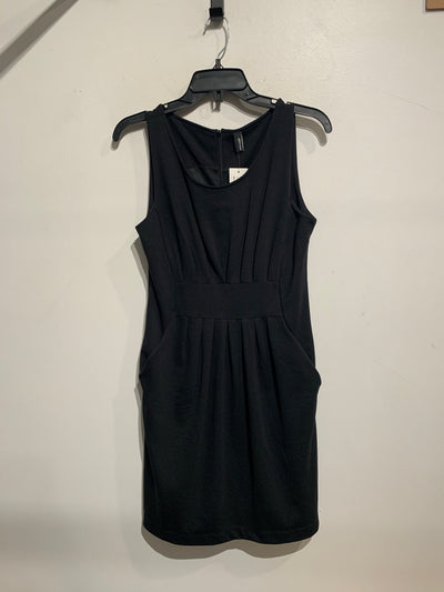 Vero Moda Black Pleat Dress