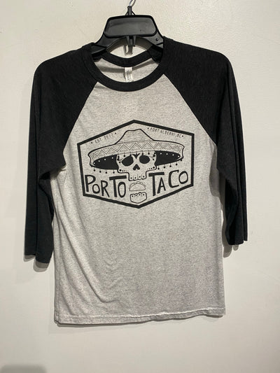 BellaCanvas Grey PortoTaco Tee
