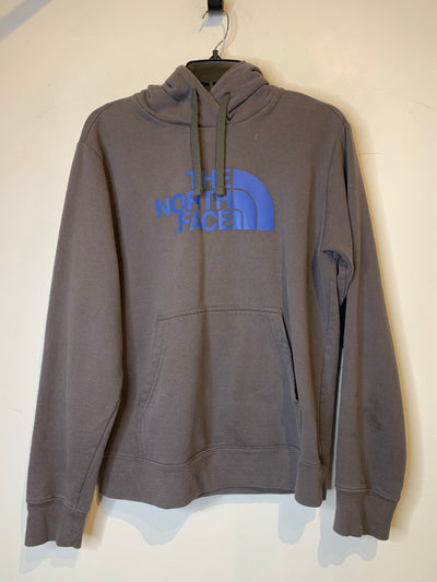 North Face Grey/Blue Hoodie