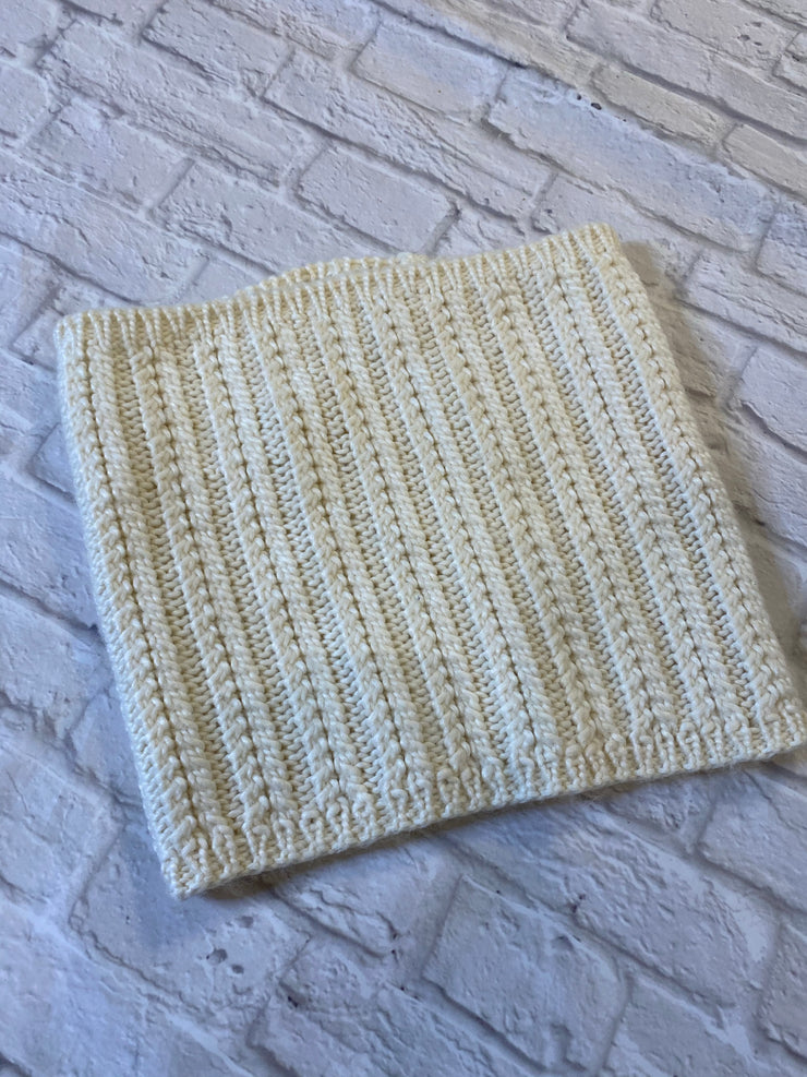 Wilfred Scarf Cream Knit