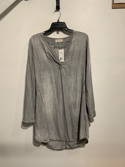 Bella Dahl Grey Cambray Dress