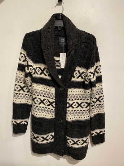 Sansara Cream/Blk Pattern Knit