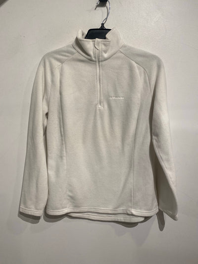 Eider White QuarterZip Fleece